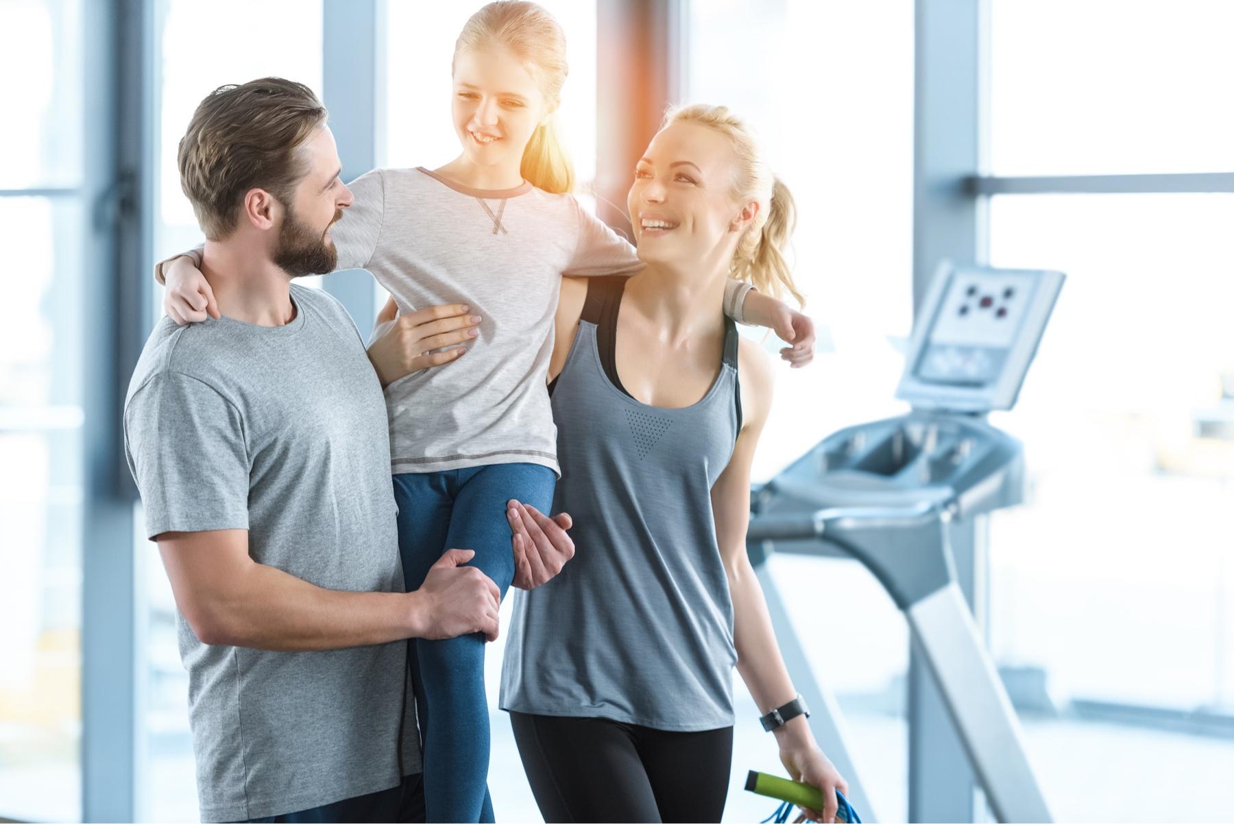 Uno para todos y todos para uno: 5 beneficios de practicar deporte en familia